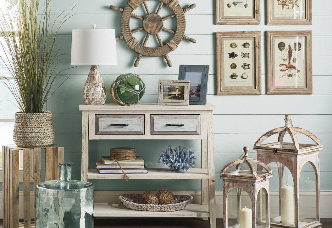 Inspiring Nautical Wall Decor Ideas For Living Room 23