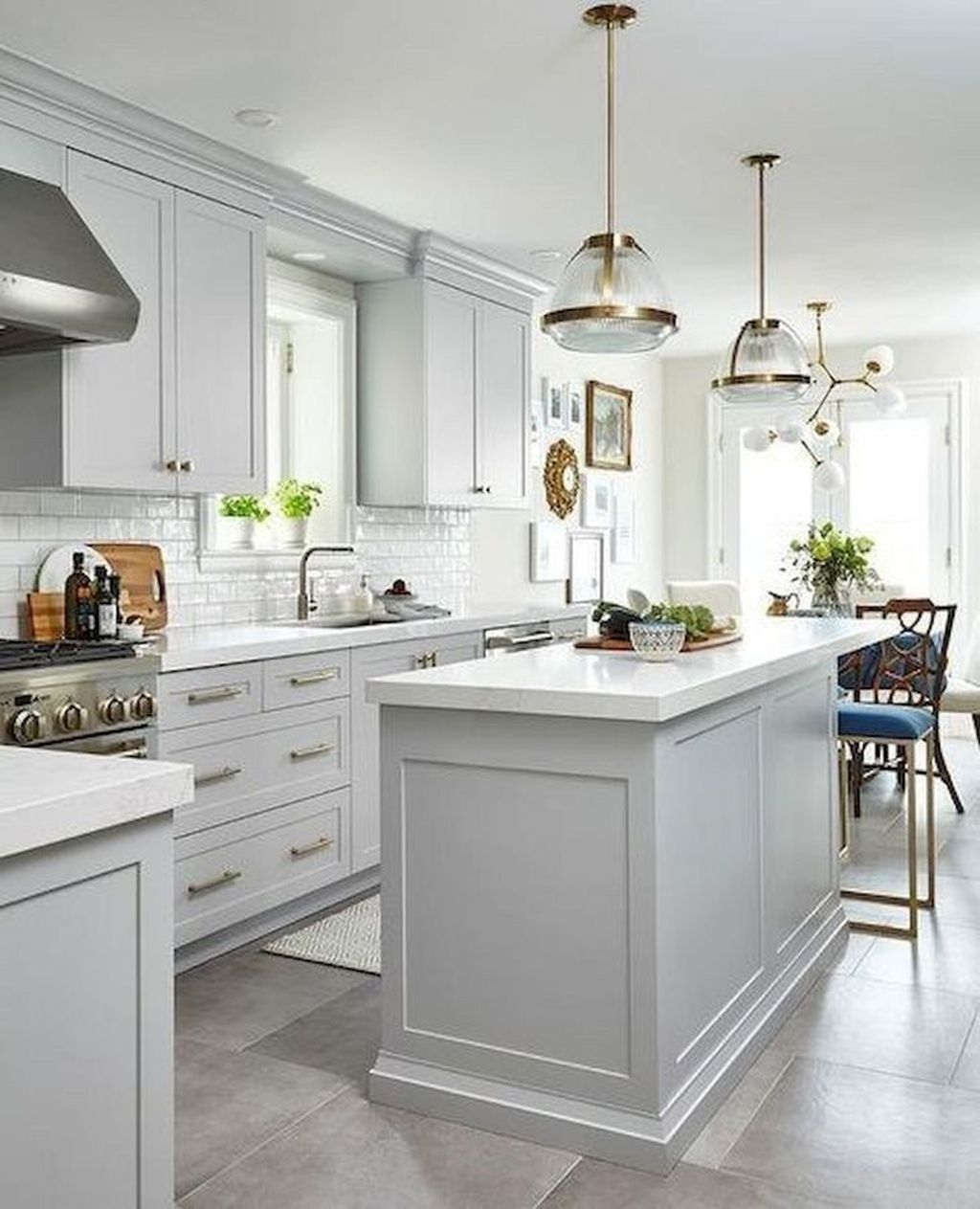 Stunning Grey And White Kitchen Color Ideas Match With Any Kitchen Design 30
