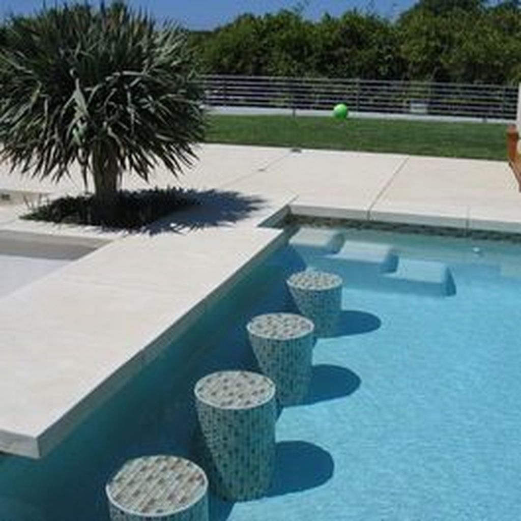 Amazing Pool Seating Ideas Which Are Very Comfortable 07