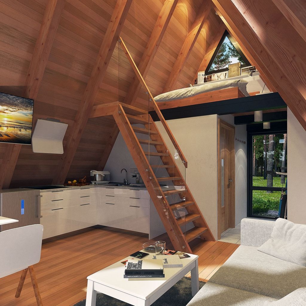 Amazing Rustic Tiny House Design Ideas 11
