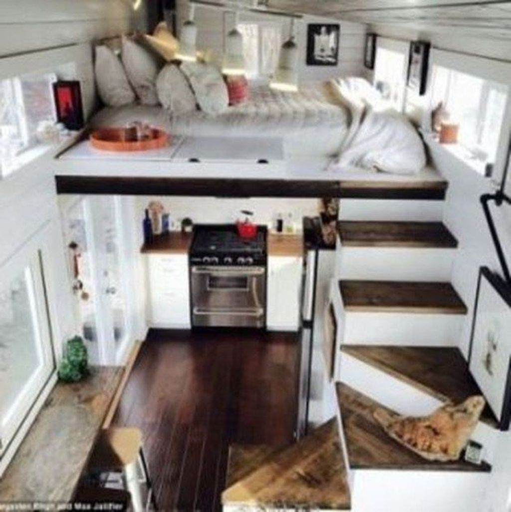Amazing Rustic Tiny House Design Ideas 20