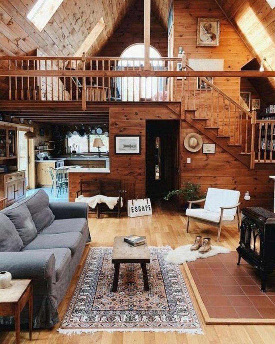 Amazing Rustic Tiny House Design Ideas 27