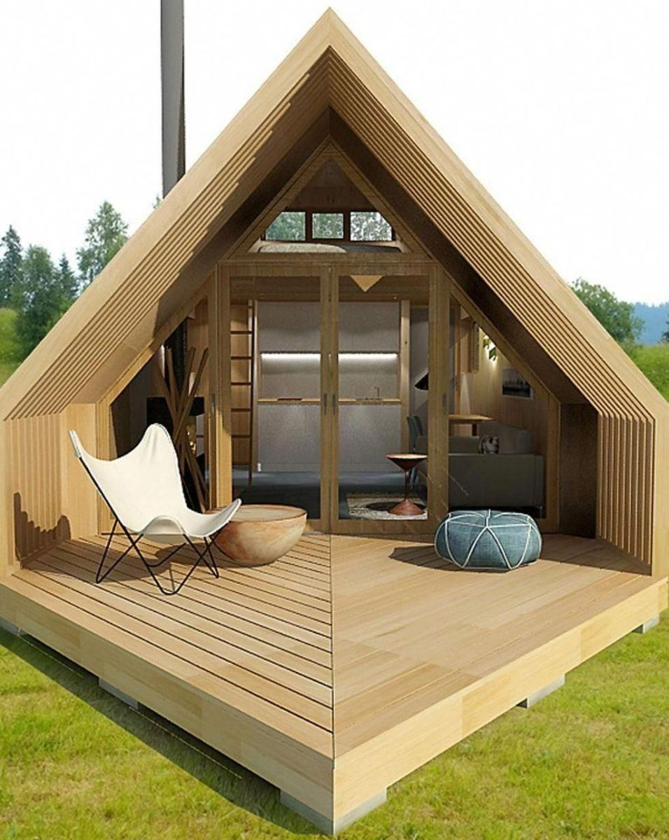 Amazing Rustic Tiny House Design Ideas 28