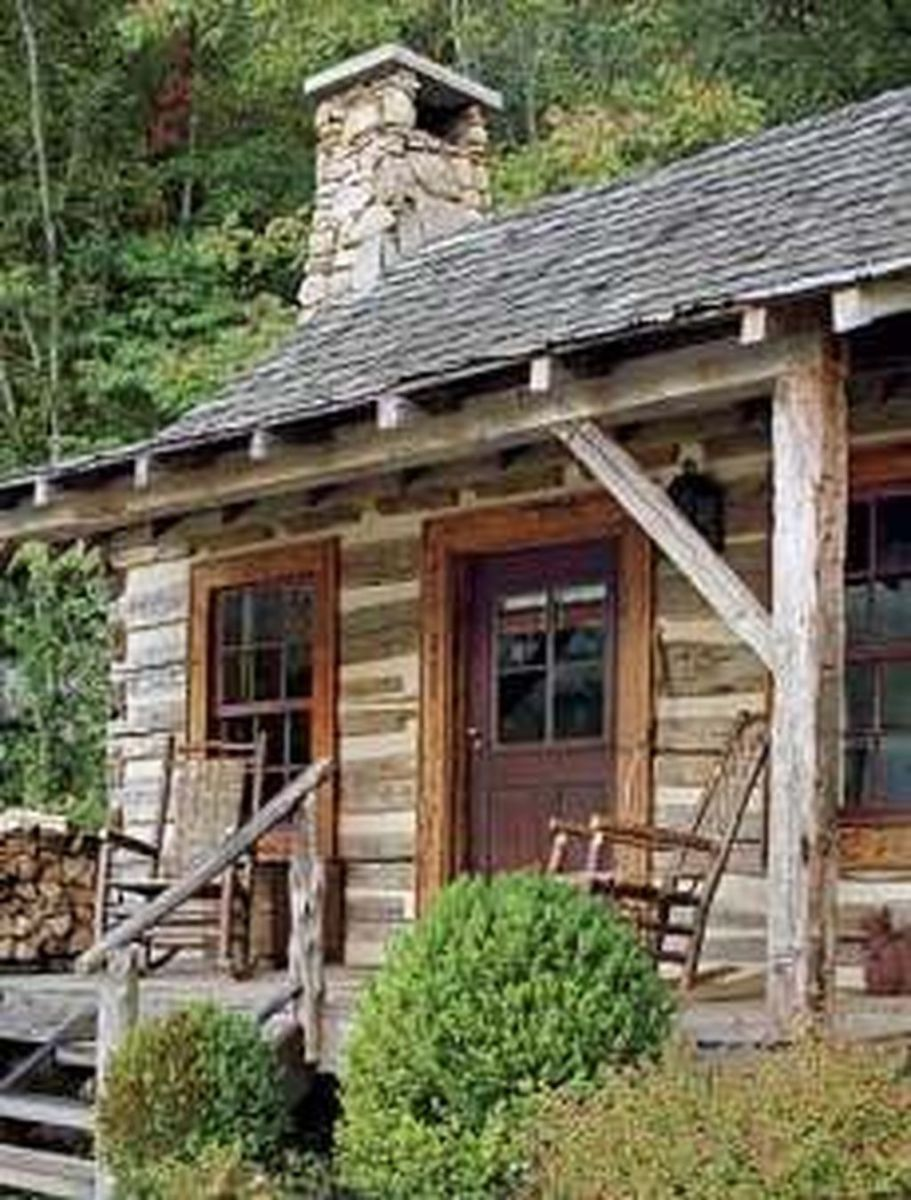 Amazing Rustic Tiny House Design Ideas 31