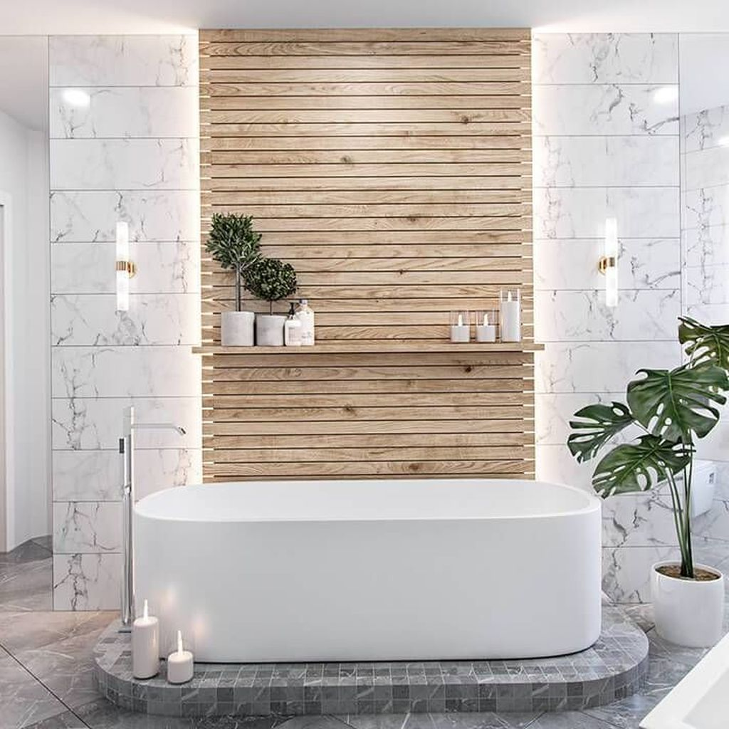 Awesome Spa Bathroom Decor Ideas You Must Have 06