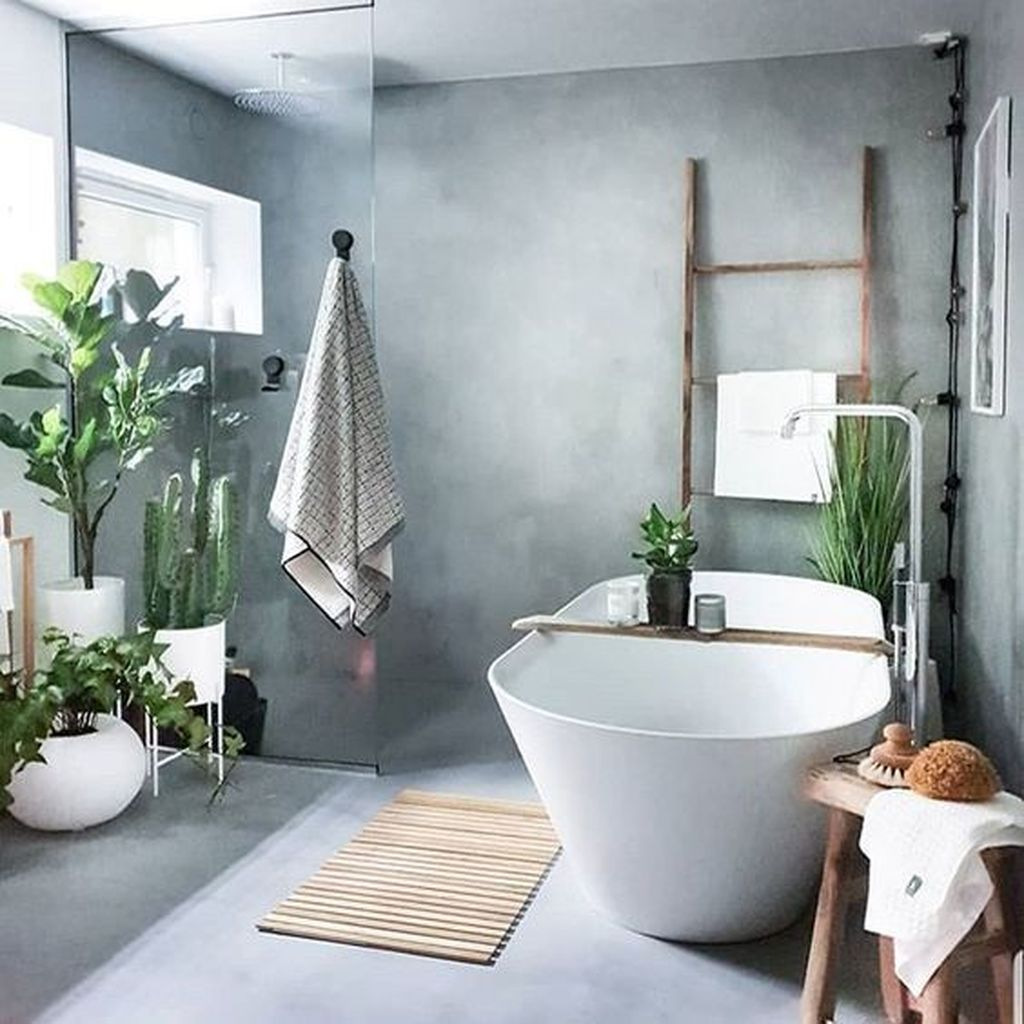 Awesome Spa Bathroom Decor Ideas You Must Have 36