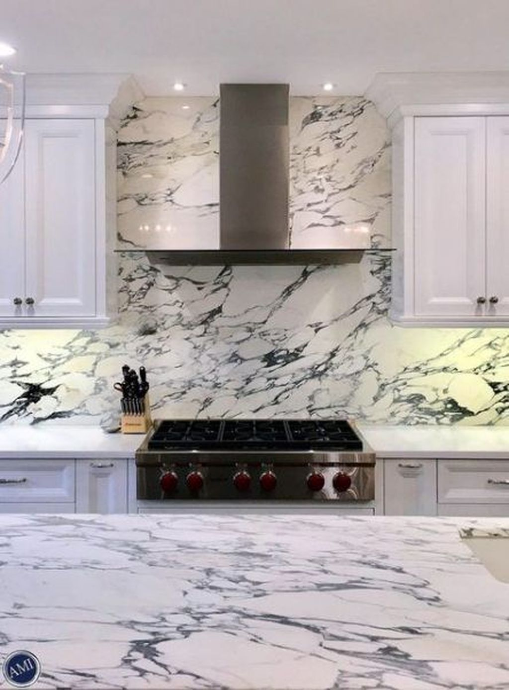 Beautiful Quartz Backsplash Kitchen Design Ideas 03