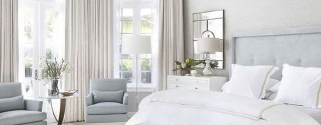 Beautiful White Master Bedroom Decorating Ideas 34