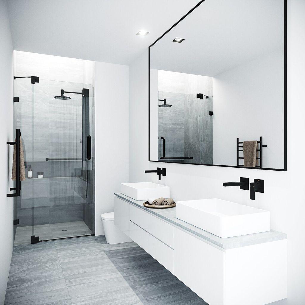 Fascinating Minimalist Bathroom Decoration Ideas 08