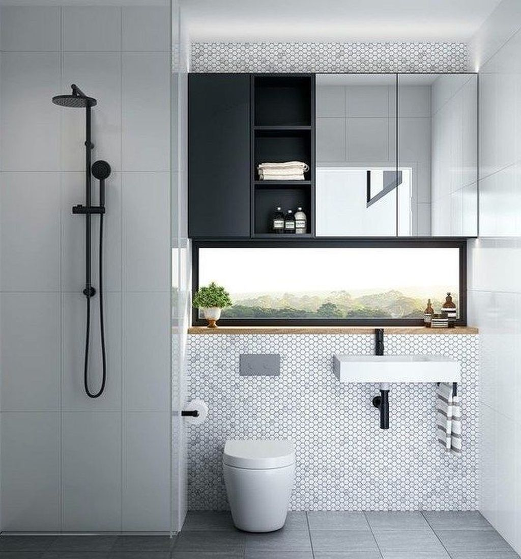 Fascinating Minimalist Bathroom Decoration Ideas 09