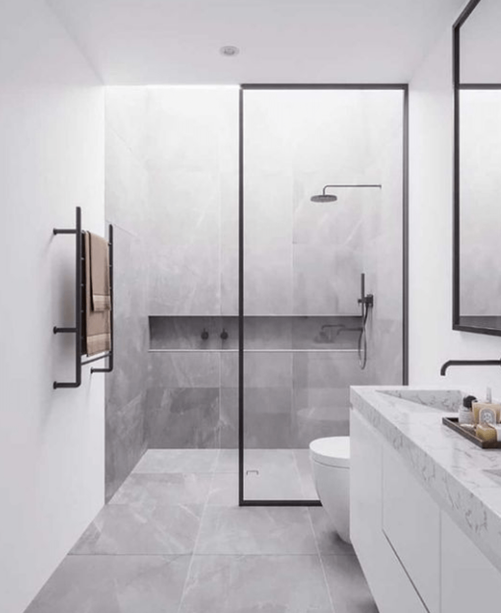 Fascinating Minimalist Bathroom Decoration Ideas 23