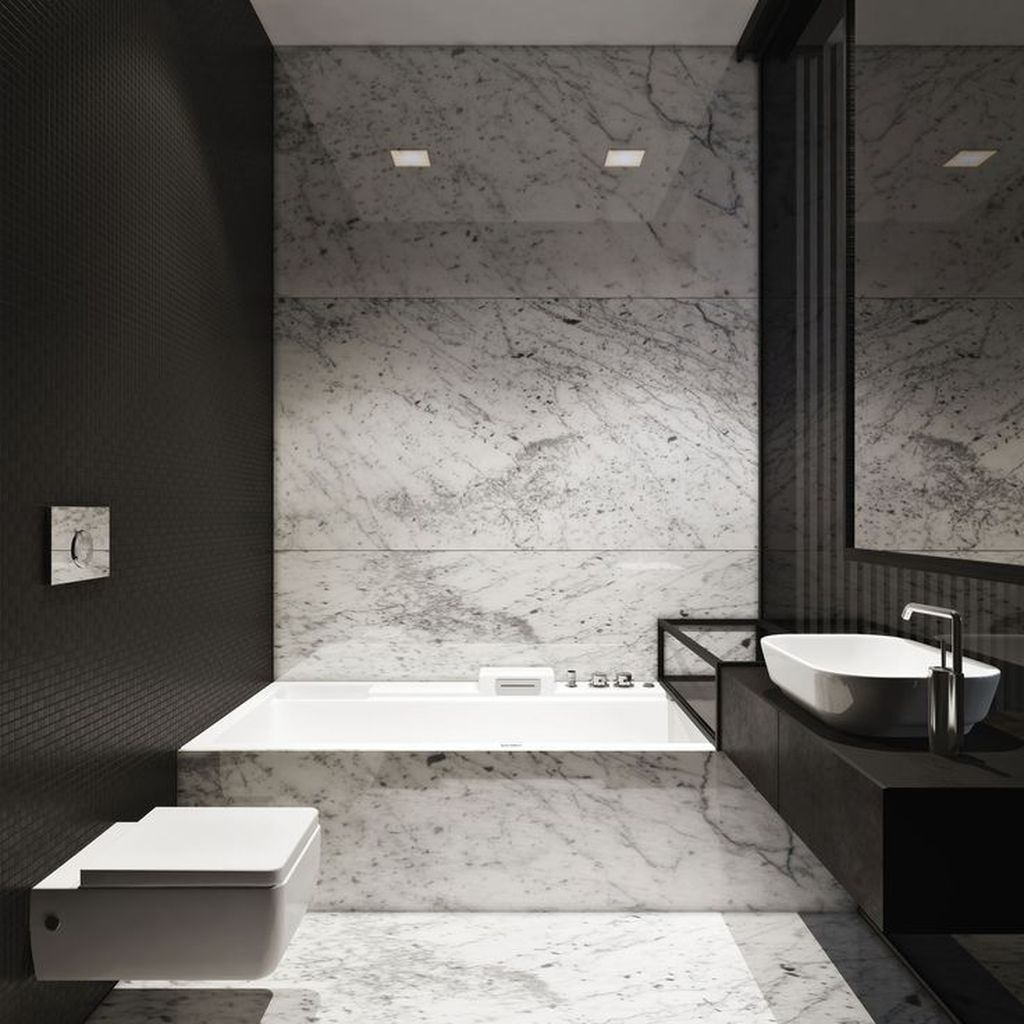 Fascinating Minimalist Bathroom Decoration Ideas 34