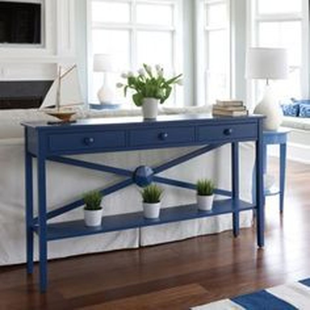 Inspiring Beachy Farmhouse Living Room Decor Ideas 03