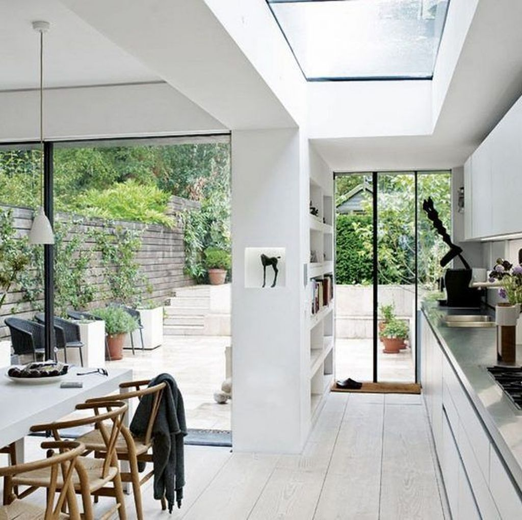 Inspiring Conservatory Kitchen Design Ideas 19
