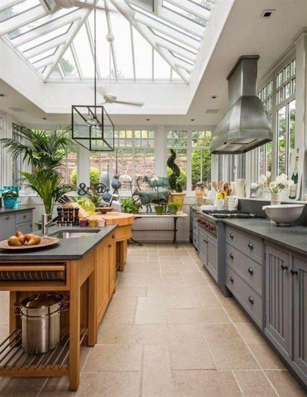 Inspiring Conservatory Kitchen Design Ideas 30