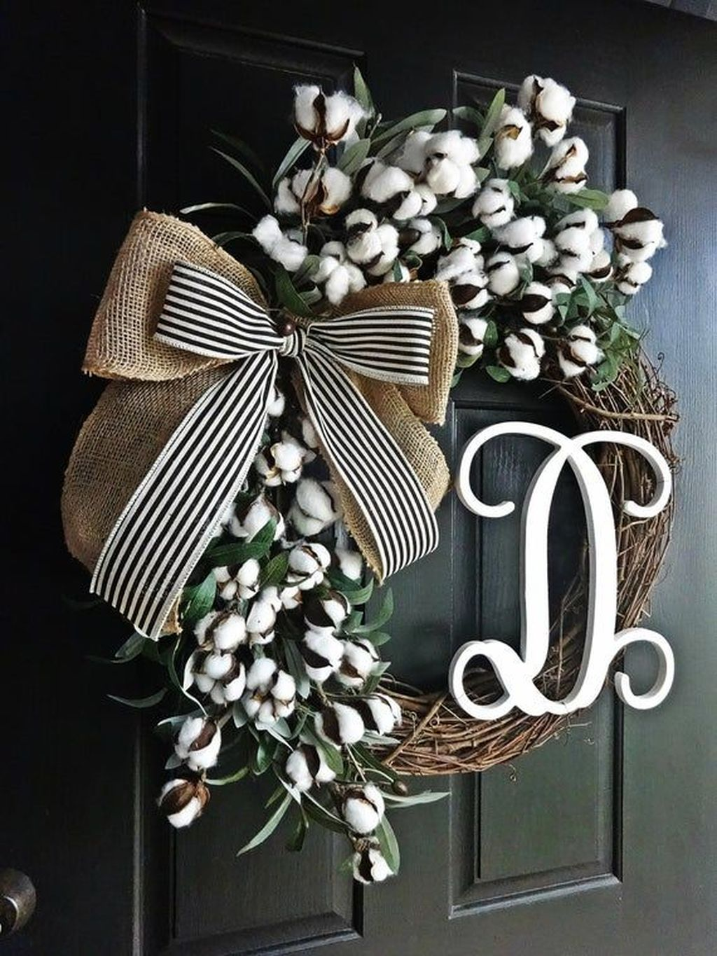 Inspiring Spring Door Wreaths For Your Home Decoration 08