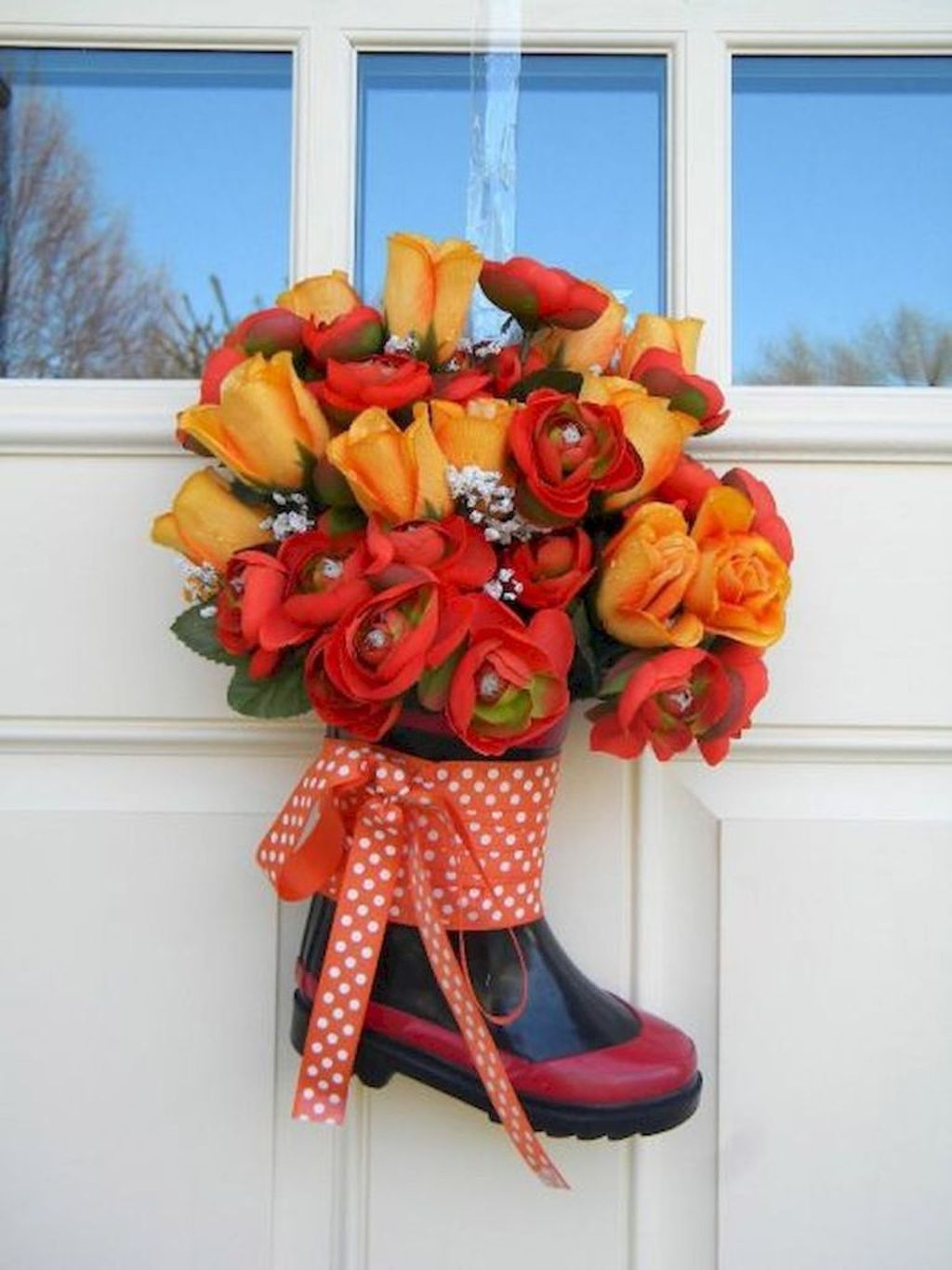 Inspiring Spring Door Wreaths For Your Home Decoration 12