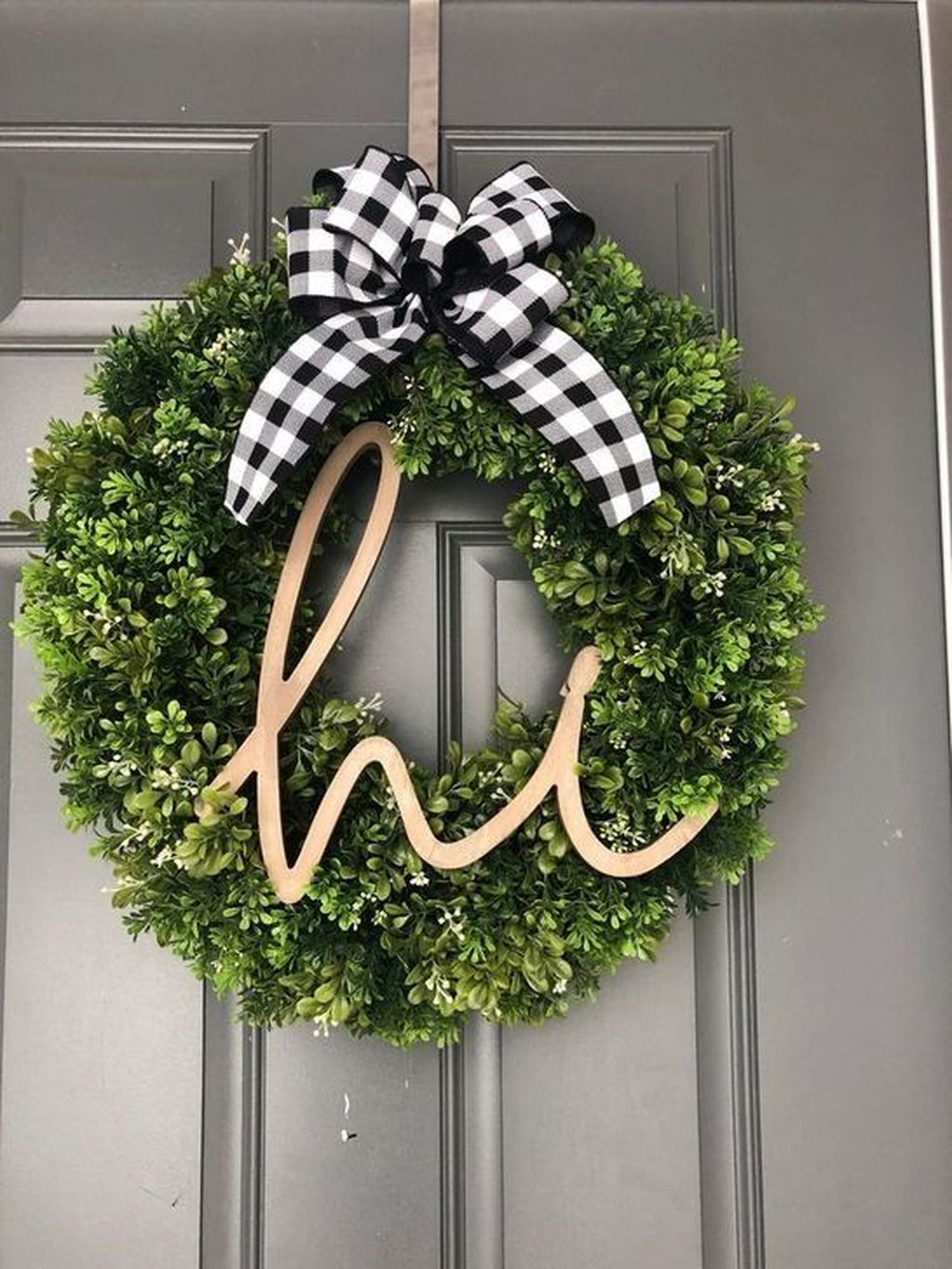 Inspiring Spring Door Wreaths For Your Home Decoration 20
