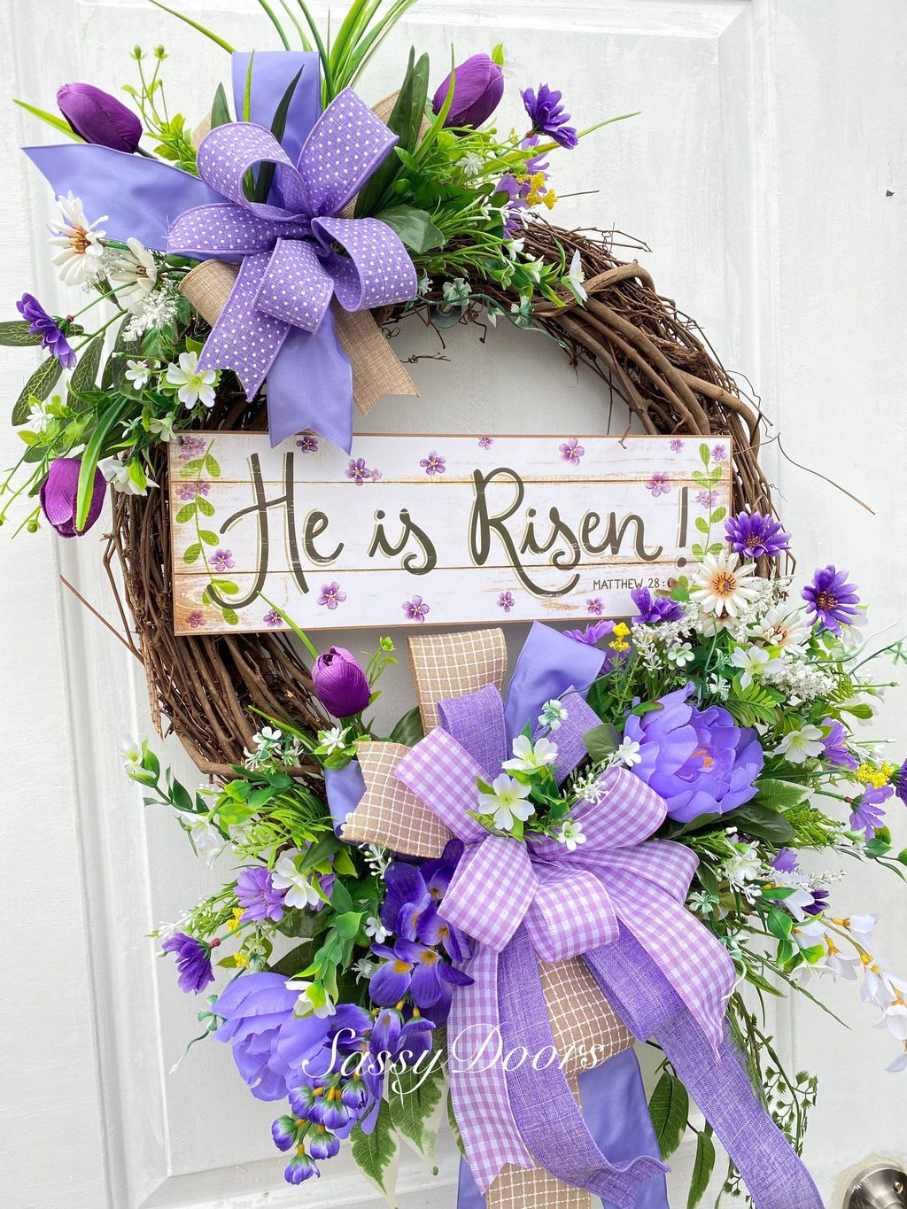 Inspiring Spring Door Wreaths For Your Home Decoration 24