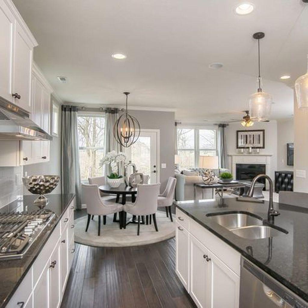 Stunning Modern Farmhouse Kitchen Table Design Ideas 01