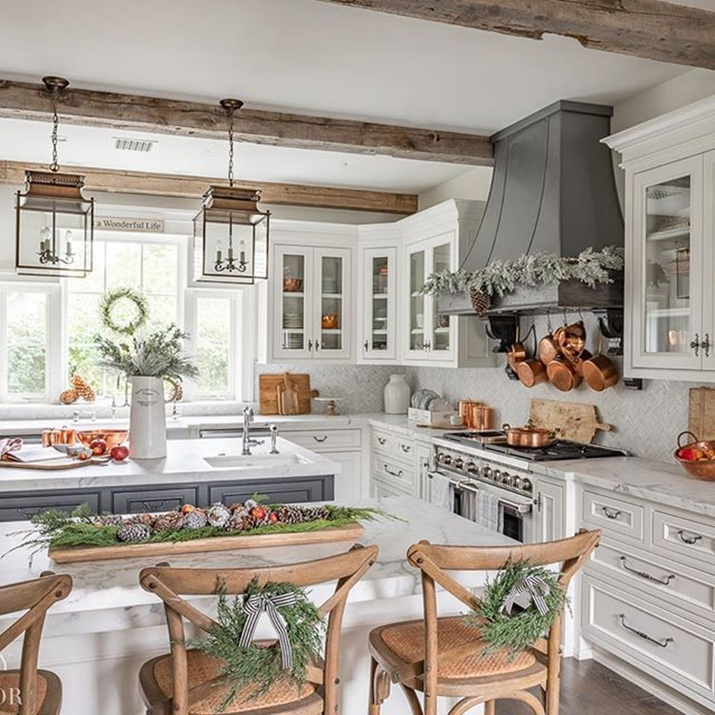 35 Stunning Modern Farmhouse Kitchen Table Design Ideas Hmdcrtn