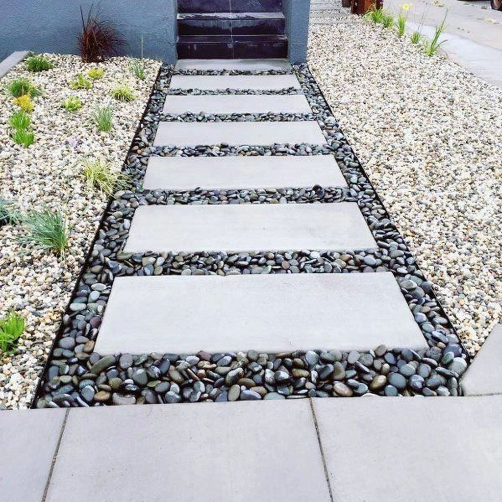 Stunning Stepping Stones Pathway Design Ideas 13