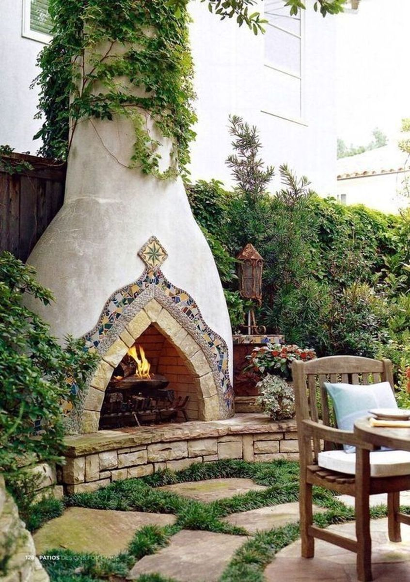 The Best Backyard Fireplace Design Ideas You Must Have 02