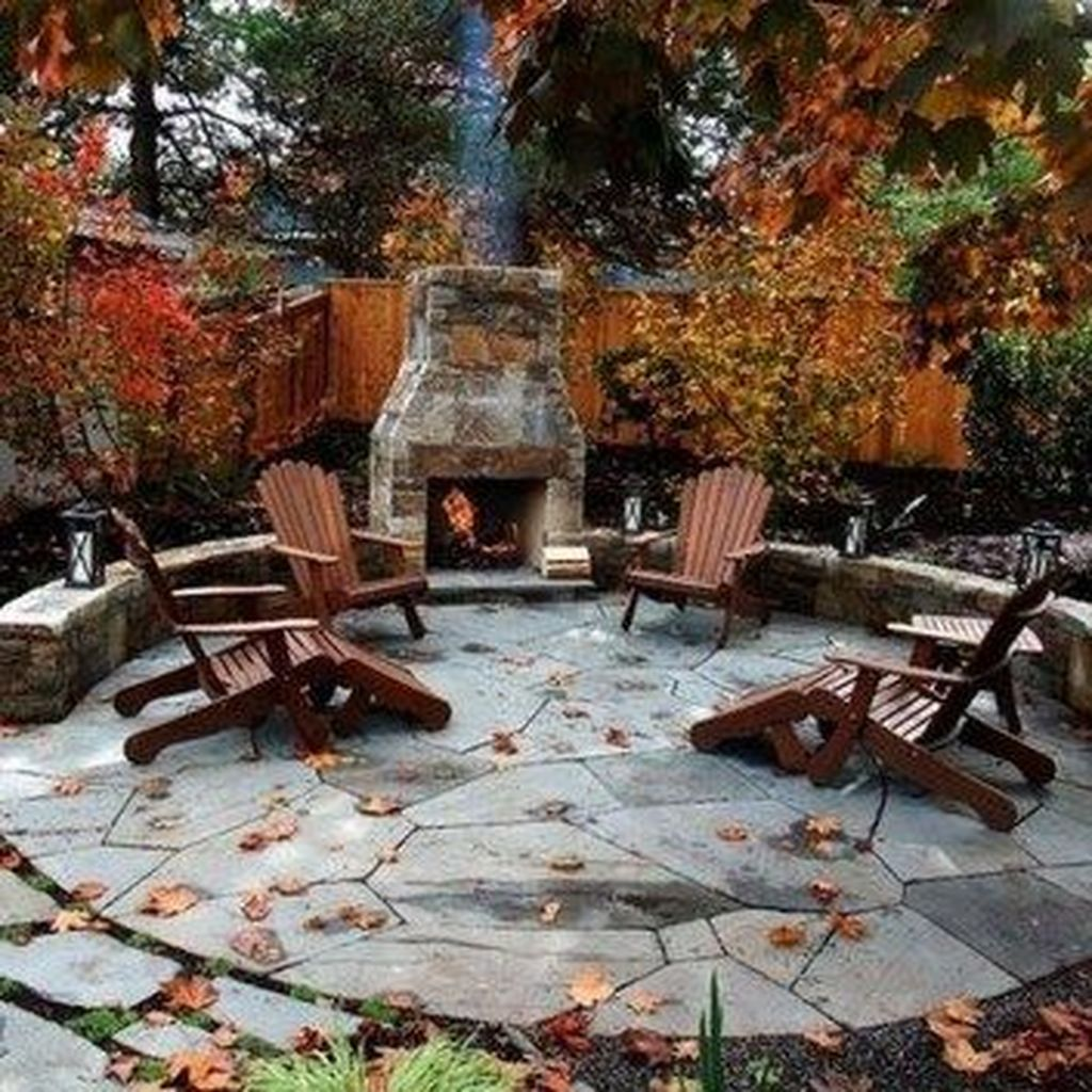 The Best Backyard Fireplace Design Ideas You Must Have 10