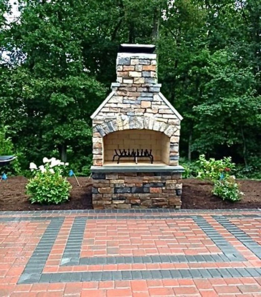 The Best Backyard Fireplace Design Ideas You Must Have 11