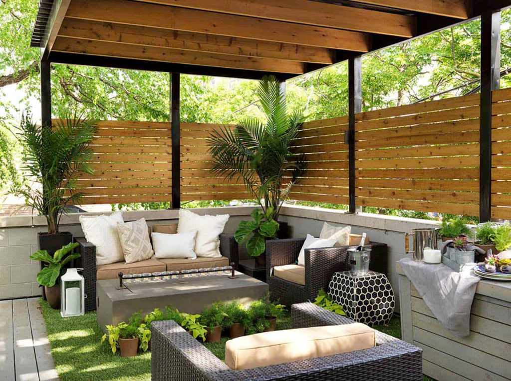 Admirable Cozy Patio Design Ideas To Relaxing On A Sunny Day 02