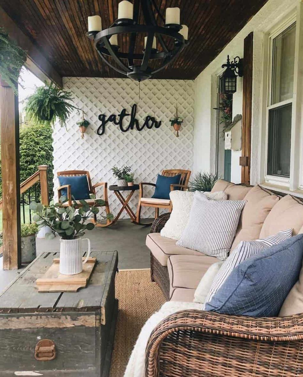 Admirable Cozy Patio Design Ideas To Relaxing On A Sunny Day 17