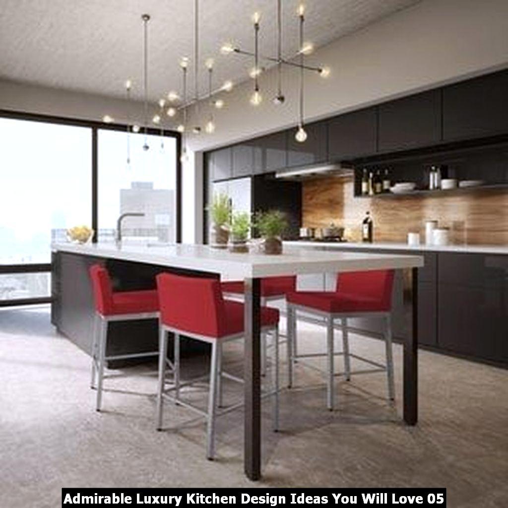 Admirable Luxury Kitchen Design Ideas You Will Love 05