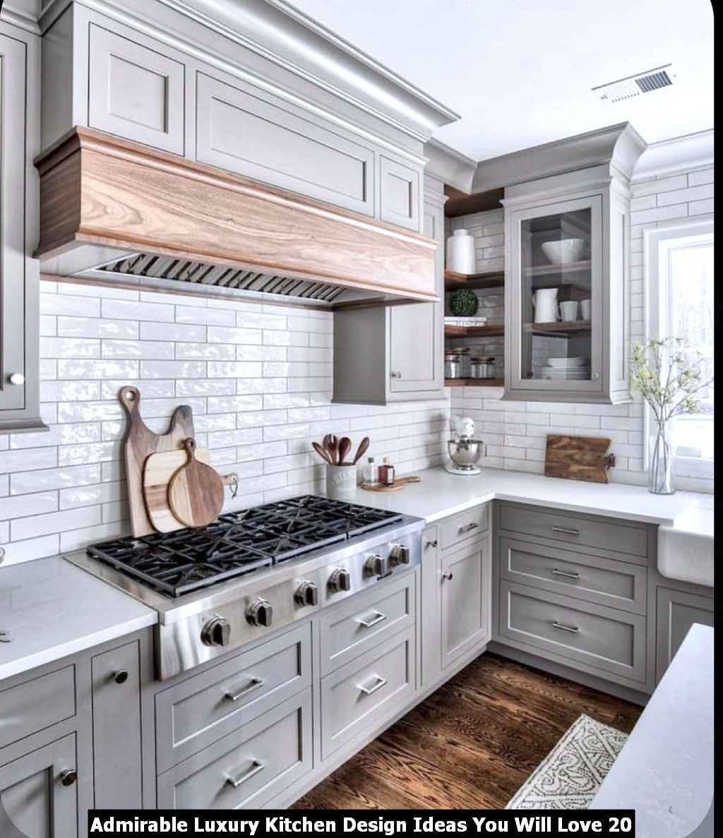 Admirable Luxury Kitchen Design Ideas You Will Love 20