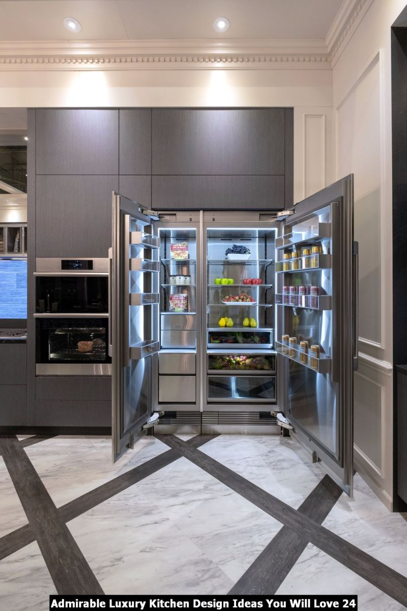 Admirable Luxury Kitchen Design Ideas You Will Love 24