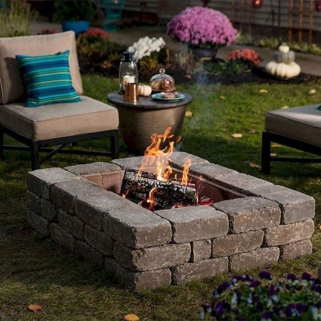 Amazing Fire Pit Design Ideas For Your Backyard Decor 22