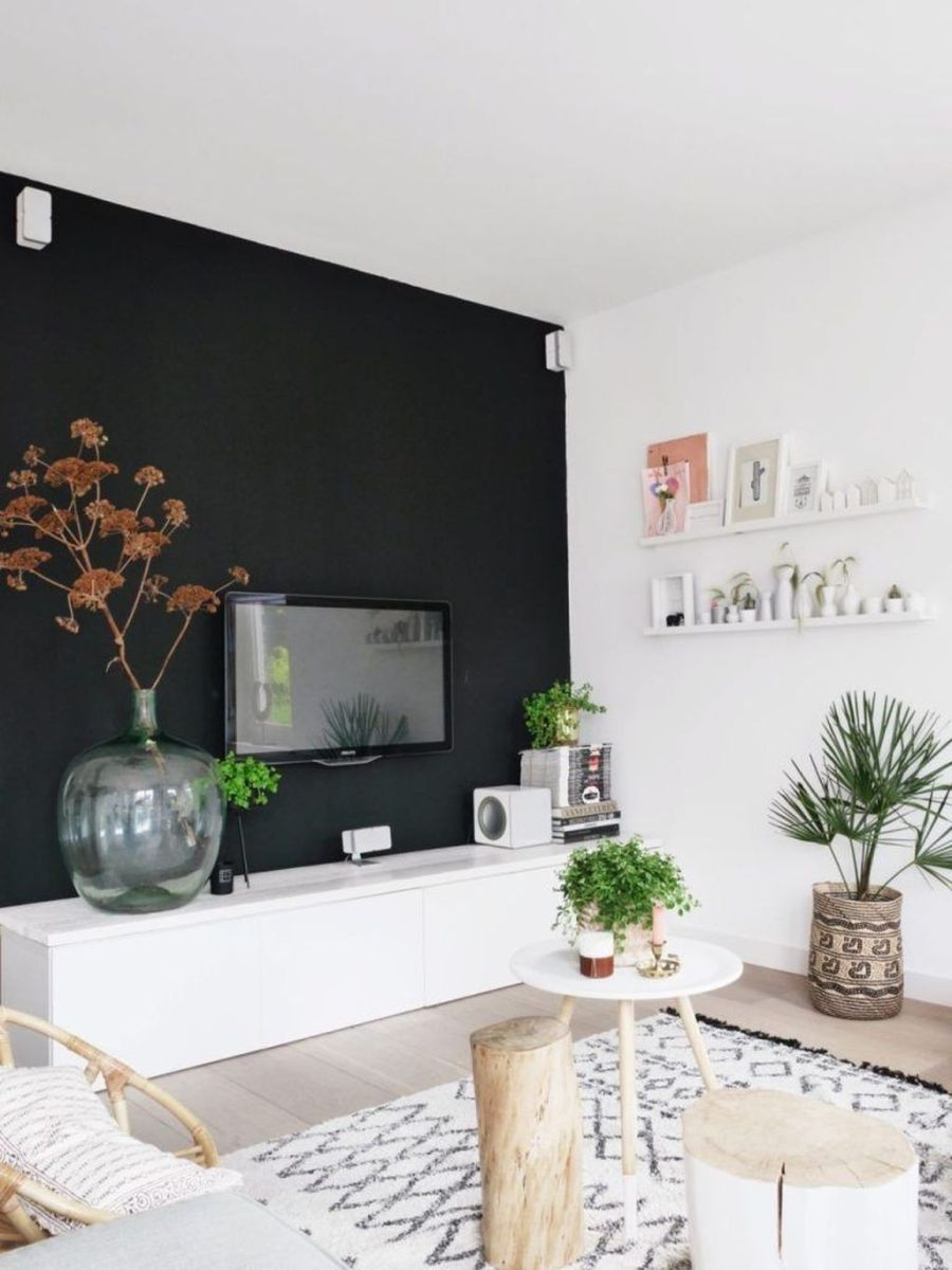 Brilliant Accent Wall Ideas For Living Room 02
