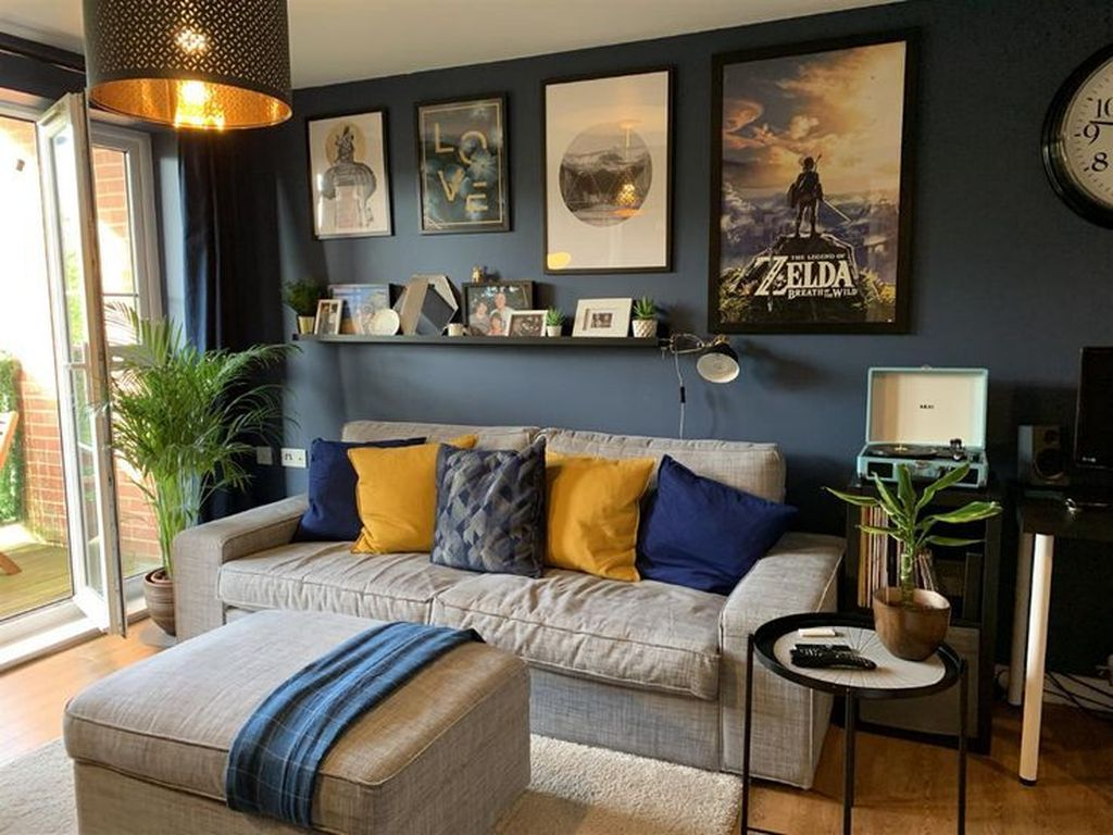 Brilliant Accent Wall Ideas For Living Room 25