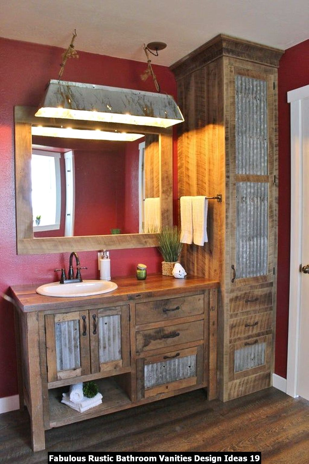 Fabulous Rustic Bathroom Vanities Design Ideas 19