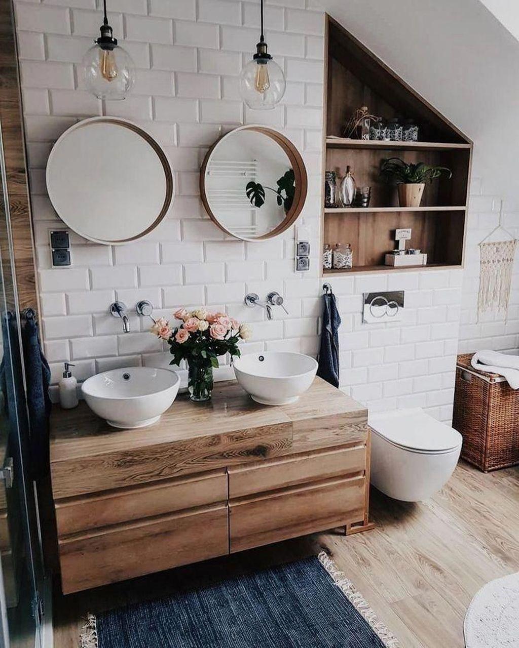 Fascinating Rustic Bathroom Decor Ideas You Must Copy 05