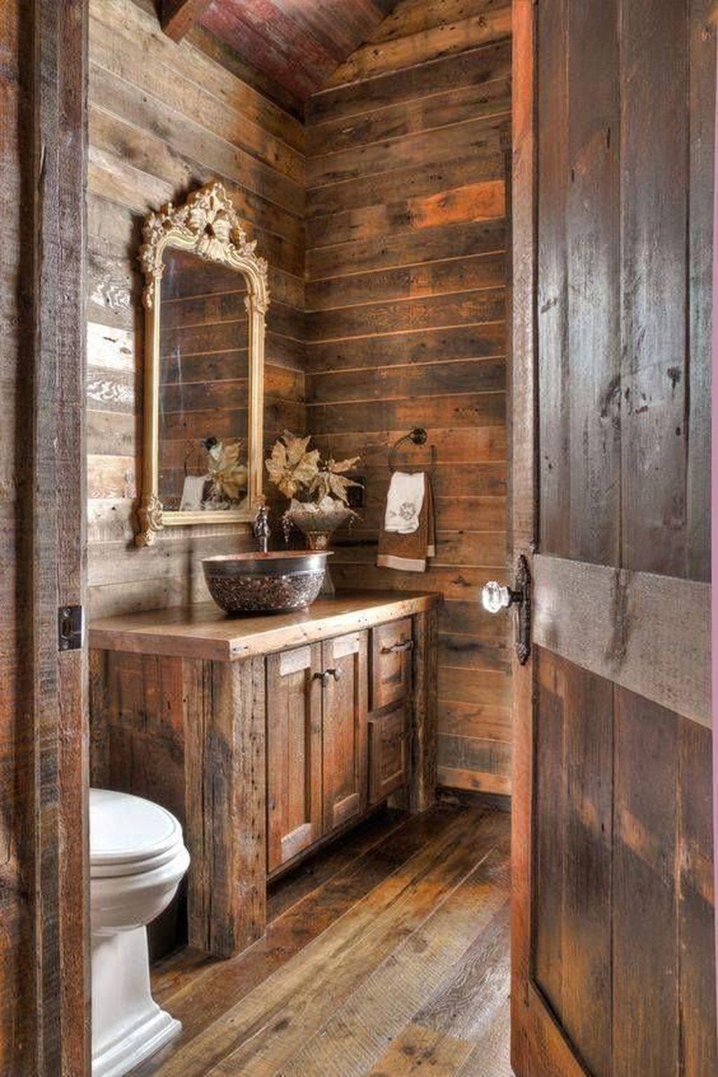 Fascinating Rustic Bathroom Decor Ideas You Must Copy 06