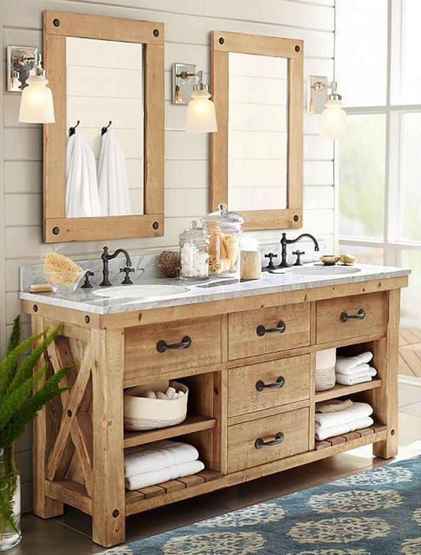 Fascinating Rustic Bathroom Decor Ideas You Must Copy 30