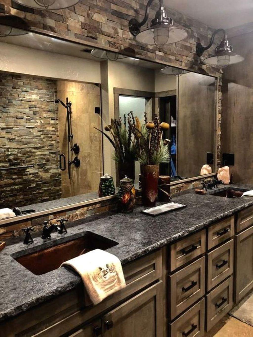 Fascinating Rustic Bathroom Decor Ideas You Must Copy 31