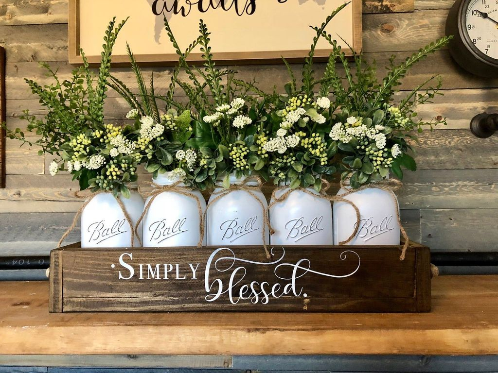 Popular DIY Spring Decor Ideas With Rustic Style 24