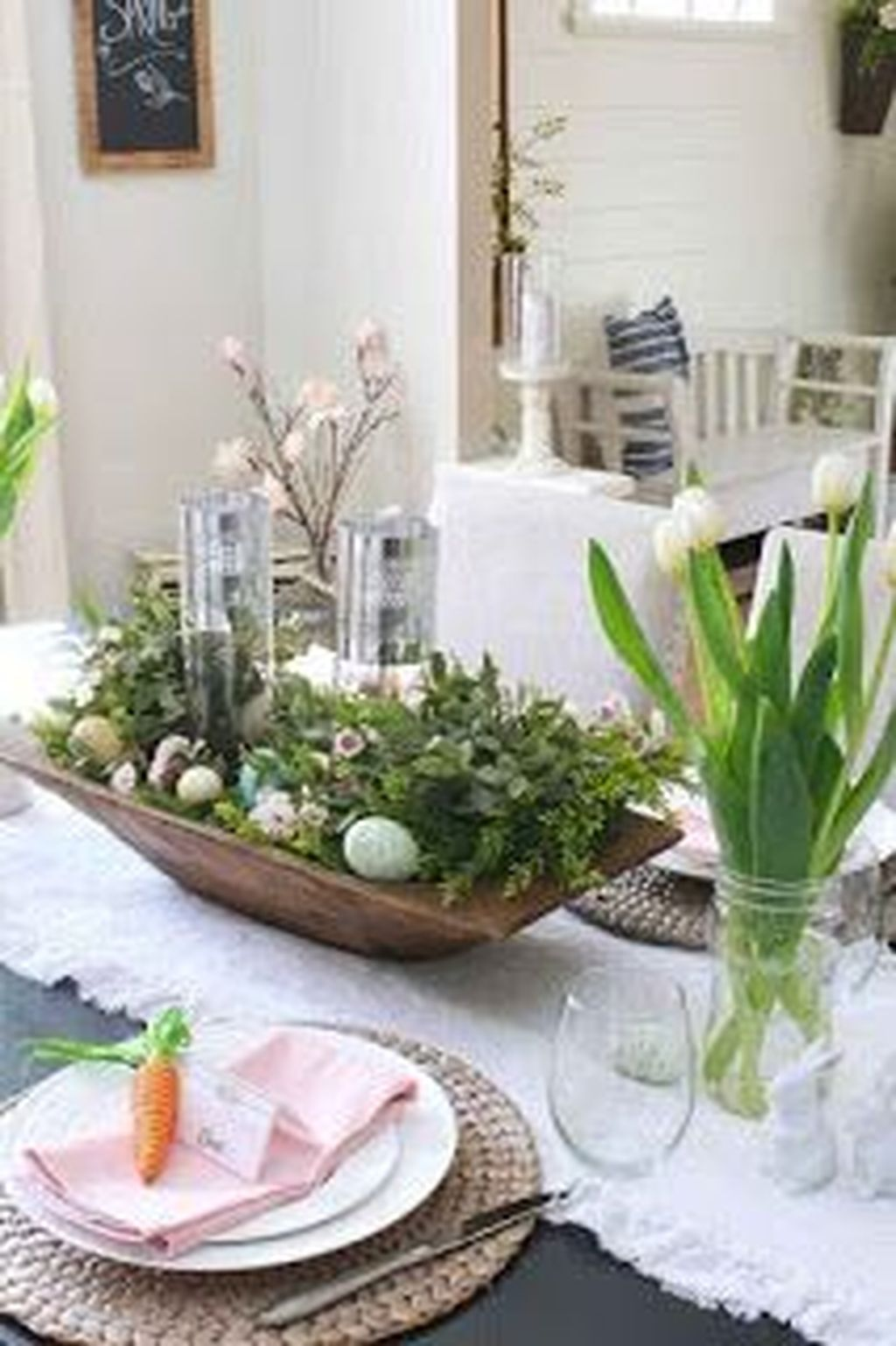 Popular DIY Spring Decor Ideas With Rustic Style 30