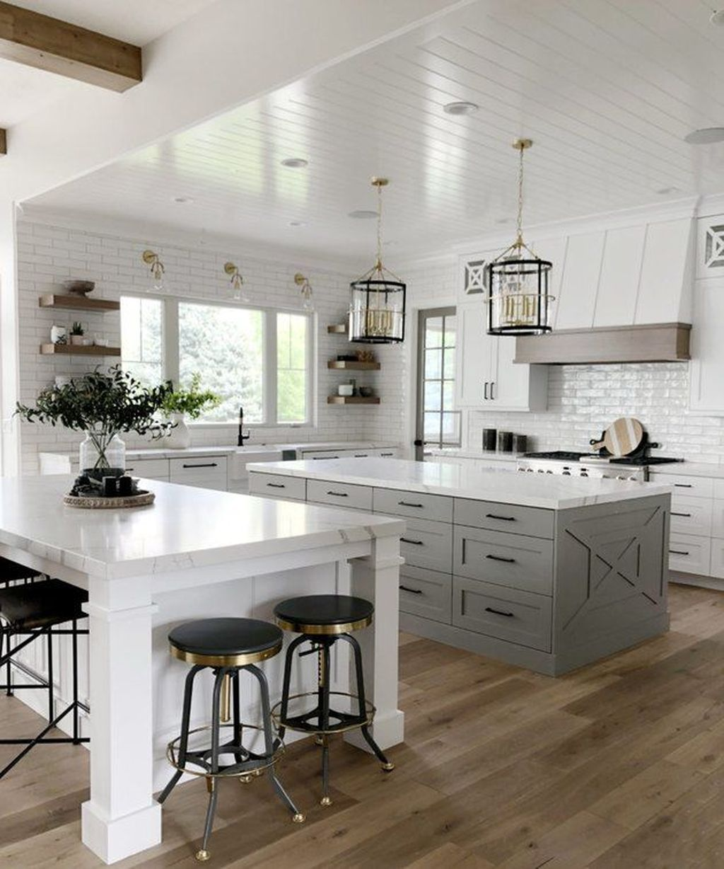 Stunning Farmhouse Kitchen Island Design Ideas 01