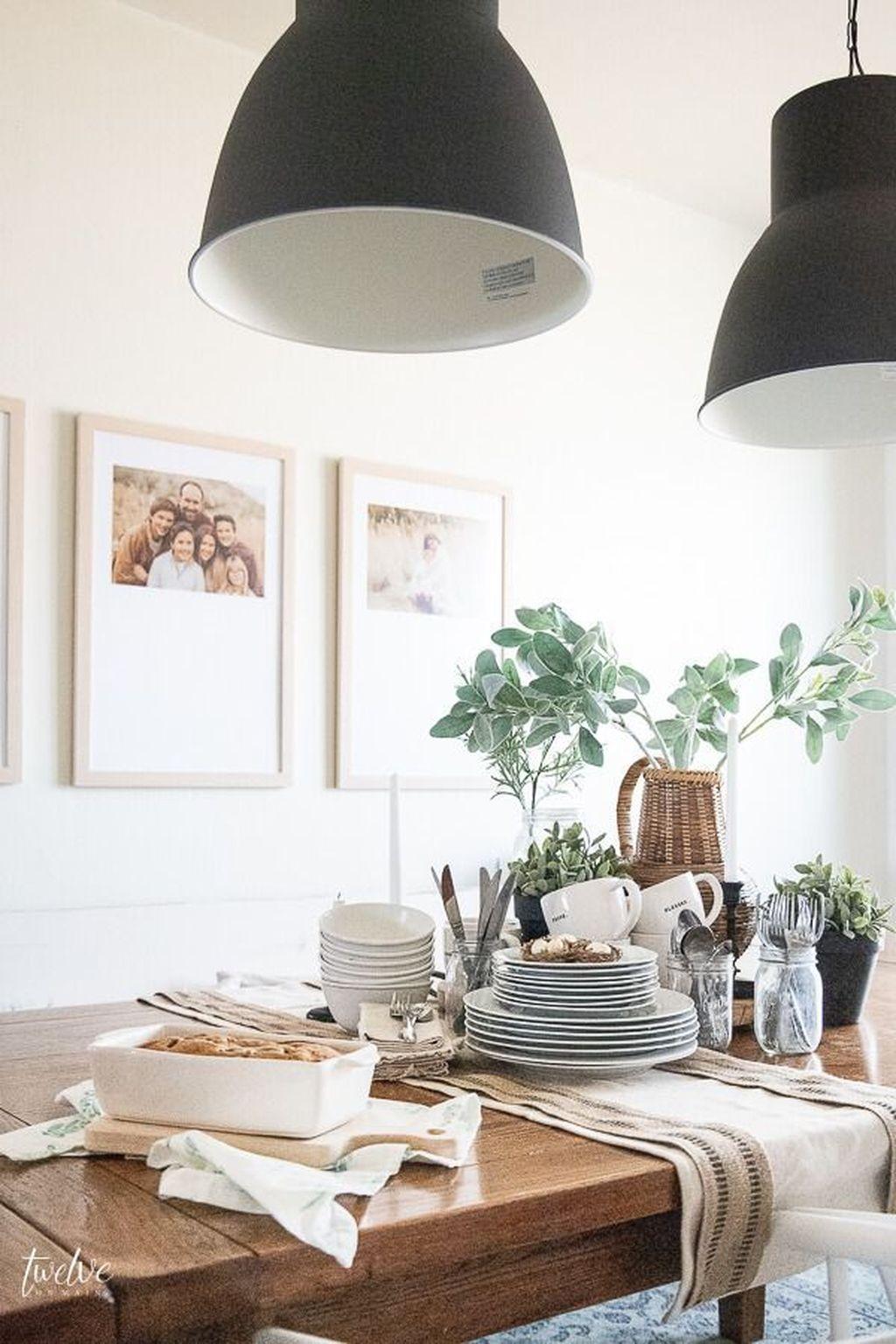 The Best Farmhouse Style Spring Tablescape Decor Ideas 05