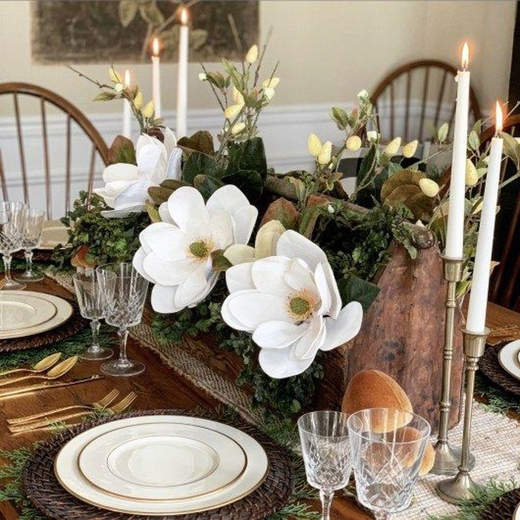 The Best Farmhouse Style Spring Tablescape Decor Ideas 14