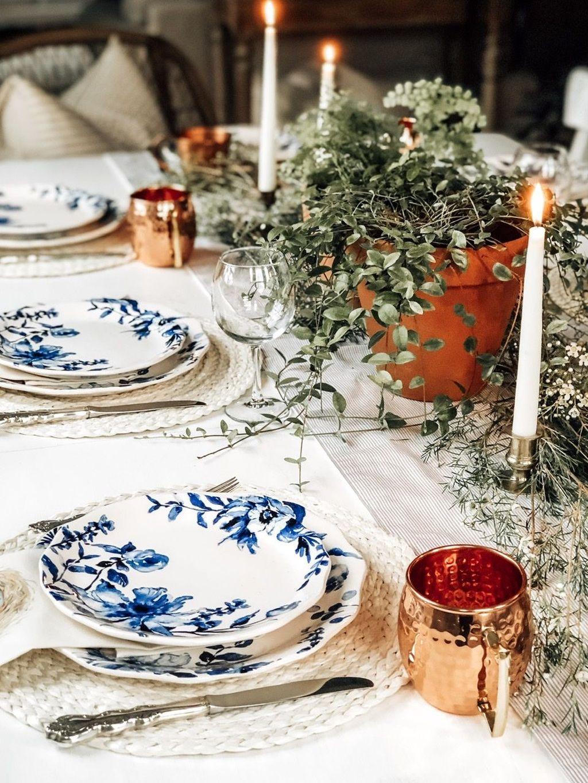 The Best Farmhouse Style Spring Tablescape Decor Ideas 28