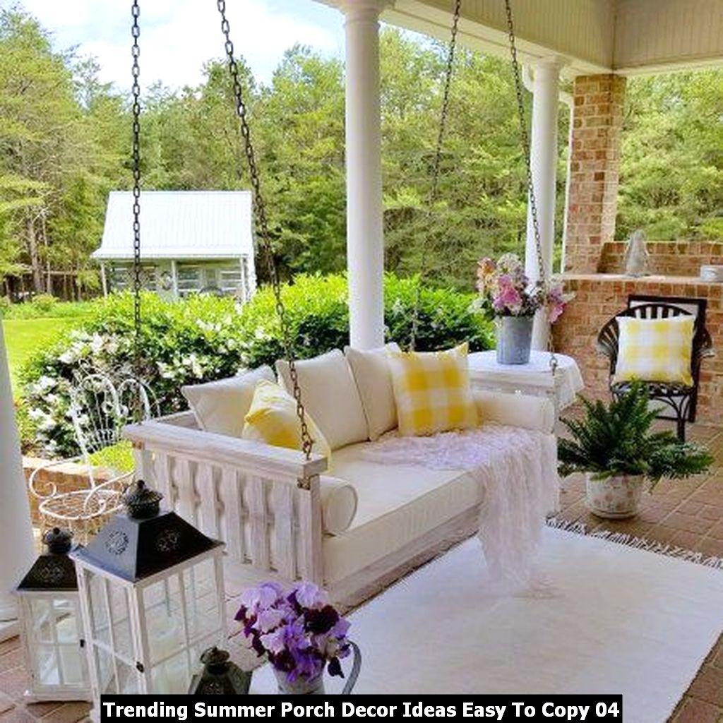 Trending Summer Porch Decor Ideas Easy To Copy 04