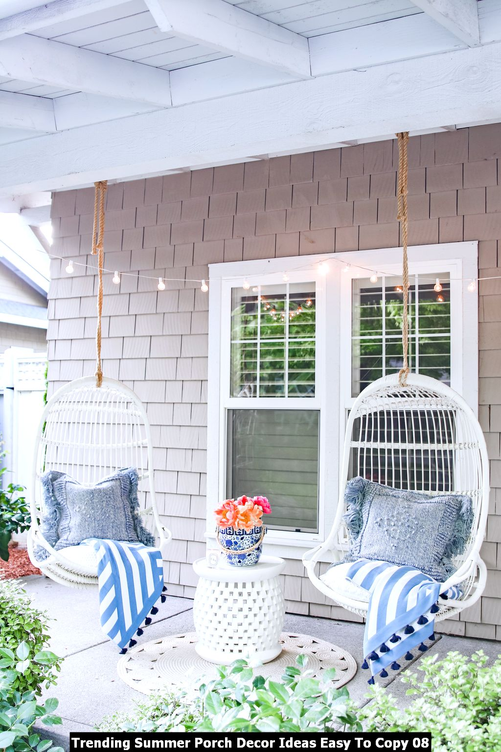 Trending Summer Porch Decor Ideas Easy To Copy 08